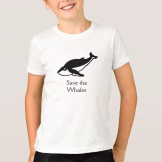 T-shirt Sauvez les baleines