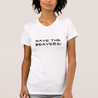 T-shirt Sauvez les castors !