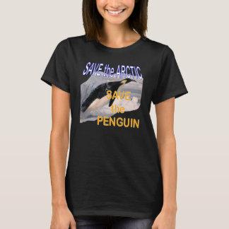 T-shirt Sauvez les économies d'Arctique le pingouin