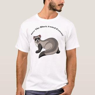 T-shirt Sauvez les furets aux pieds noirs !