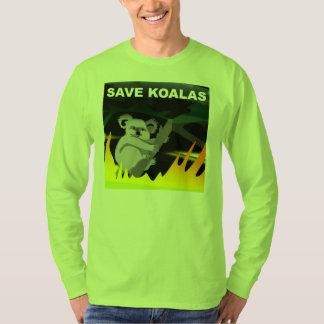 T-shirt Sauvez les koala