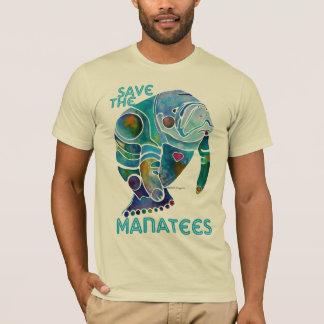 T-shirt Sauvez les lamantins bleus