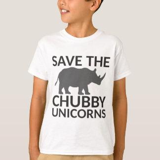 T-shirt Sauvez les licornes potelées
