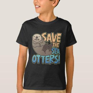 T-shirt Sauvez les loutres de mer