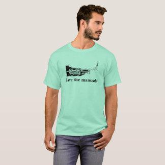 T-shirt Sauvez les manuels !