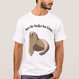 T-shirt Sauvez les otaries de Steller !
