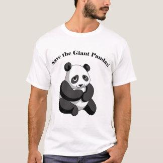 T-shirt Sauvez les pandas géants !