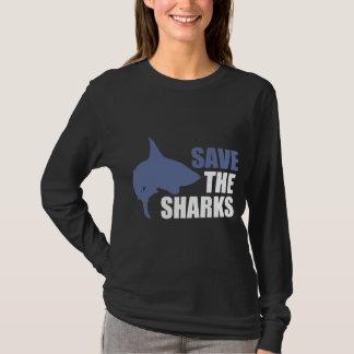 T-shirt Sauvez les requins, sauvez la chemise d'activiste