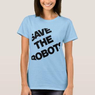 T-shirt Sauvez les robots après le club NYC d'heures