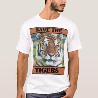 T-shirt Sauvez les tigres