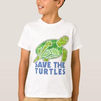 T-shirt Sauvez les tortues