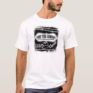 T-shirt Sauvez l'habillement de cowboy