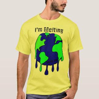 T-shirt Sauvez-moi, en fondant le monde