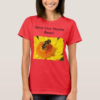 T-shirt Sauvez nos abeilles de miel