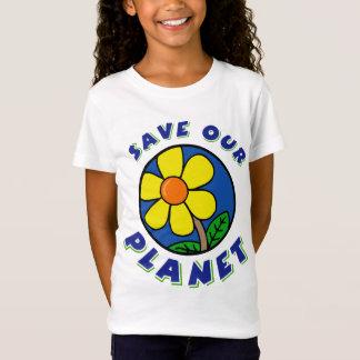T-Shirt Sauvez nos enfants de planète