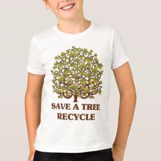 T-shirt Sauvez un arbre