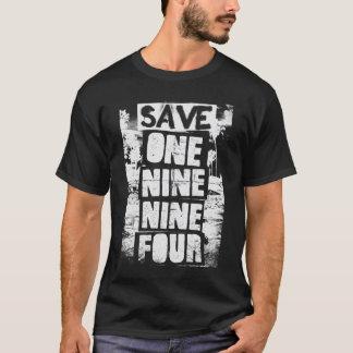 T-shirt Sauvez UN NEUF NEUF QUATRE - obscurité