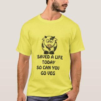 T-SHIRT SAUVEZ UN TEE - SHIRT DE LA VIE