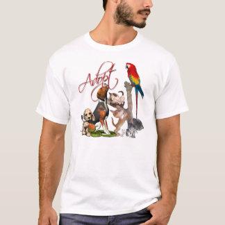 T-shirt Sauvez une vie, adoptez un animal familier