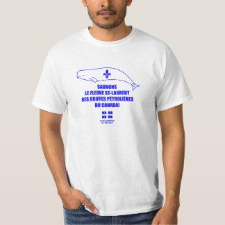 T-shirt Sauvons le fleuve St-Laurent!