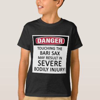 T-shirt Saxo de Bari de danger