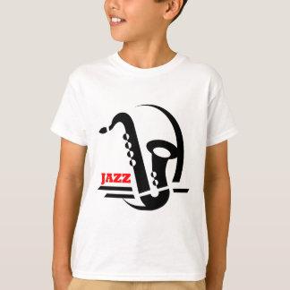 T-shirt Saxo de jazz