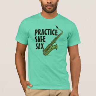 T-shirt Saxo sûr de pratique - tenor