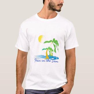 T-shirt scan0002, amusement au soleil