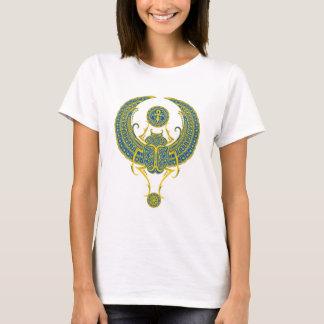 T-shirt Scarabée à ailes par Egyptien