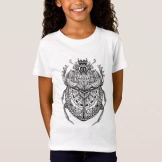 T-Shirt Scarabée africain Zendoodle
