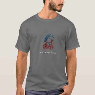 T-shirt Scarabée montant un tricycle