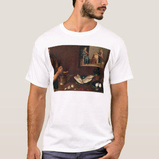T-shirt Scène de cuisine avec le Christ