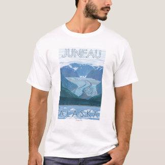 T-shirt Scène de glacier - Juneau, Alaska