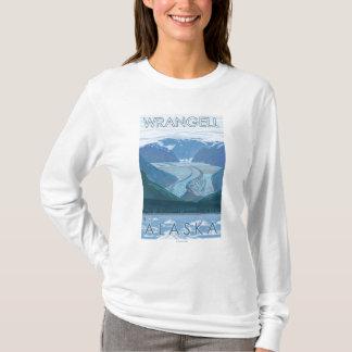 T-shirt Scène de glacier - Wrangell, Alaska