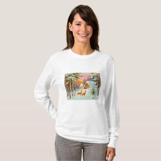 T-shirt Scène de neige