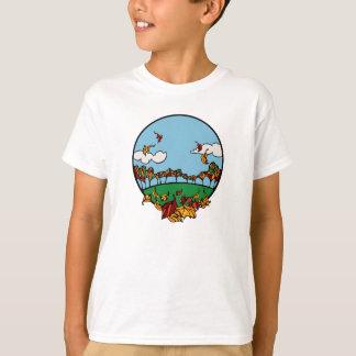 T-shirt Scène de paysage d'automne