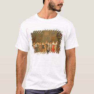 T-shirt Scène de poursuite, 1644 (huile sur la toile)