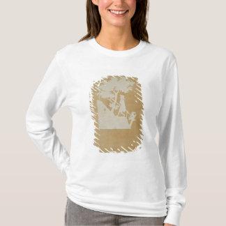T-shirt Scène de région boisée