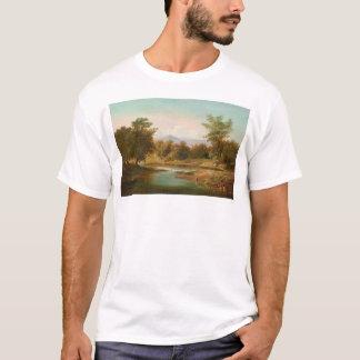 T-shirt Scène de rivière de Carmel (0236A)