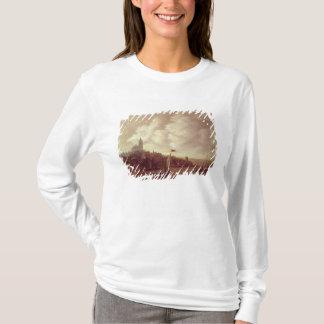 T-shirt Scène de rivière et de ville
