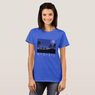 T-shirt Scène de sages de directeur de Noel de Dessus de