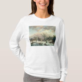 T-shirt Scène d'hiver