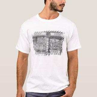 T-shirt Scène d'opérations bancaires