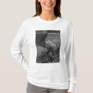 T-shirt Scène 'du givre du Mariner antique