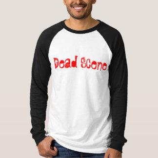 T-shirt Scène morte Baller