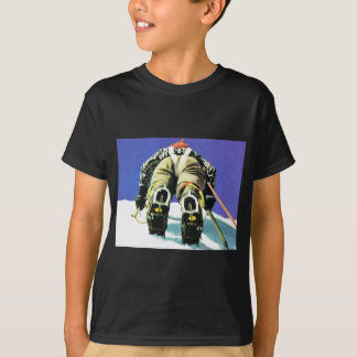 T-shirt Scène suisse de montagne