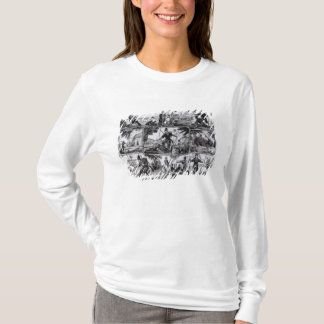 "T-shirt Scènes de ""Robinson Crusoe"" par Daniel Defoe"