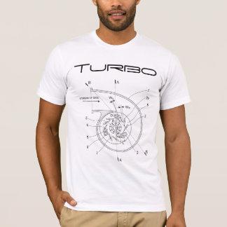 T-shirt Schéma de Turbo