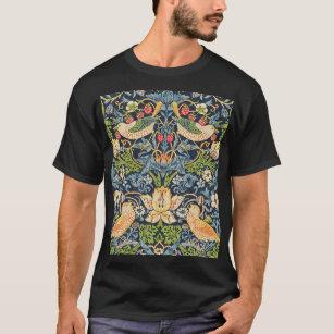 T-shirt Schéma floral William Morris Strawberry Thief
