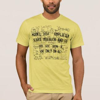 T-shirt schéma SILVERTONE du JUMEAU DOUZE de GÂCHETTES des